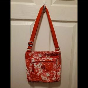 Coach Red/Pink/White nylon Shoulder Bag Crossbody
